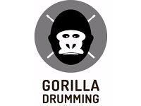 Gorilla Drumming - Professional Drum Kit Tuition