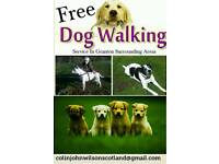 Free Dog Walking Service In Granton Surrounding Areas