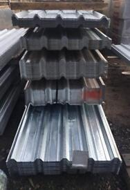 🛠 2.4M Galvanised Box Profile Roof Sheets ~ New