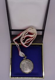 ***Age Concern New Forest*** Cycling Medal & Box