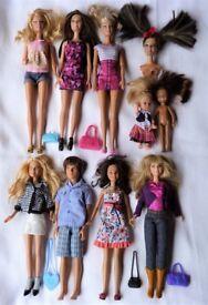 Disney, Barbie, Baby, Child, Male, Accessories Doll Bundle.