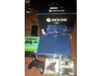 Xbox one 1TB Console Boxed - 2 Games - 2 Wireless Controllers