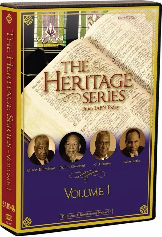 """THE HERITAGE SERIES""  VOL. 1 DVD SET CHARLES E. BRADFORD, C.D. BROOKS, AND MORE"