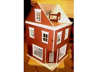DOLLS HOUSE SHOP (LARGE) NEEDS PAINTING&REDECORATING NOW REDUCED TO £35.COLLECTION ONLY PLEASE.