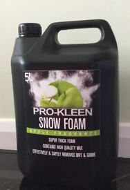Pro-Kleen Pressure Wash Shampoo Snow Foam 10L Car Cleaner Apple