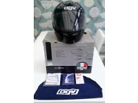 AGV MOTORCYCLE IN BLACK AS NEW