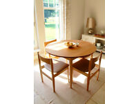 Gorgeous Retro Style Dining Set (Extendable Table)