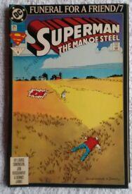 Superman the Man of Steel #21