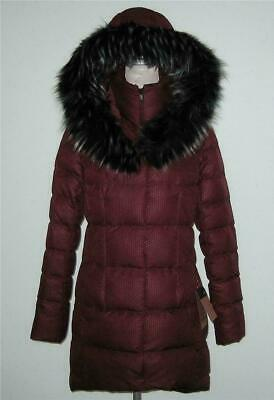 NWT The North Face 550 Fill Down PARKINA Coat Jacket Women L Burgundy Red MP$299