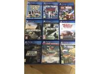 SONY PS4 games & charging Doc (please check spam if you email me)