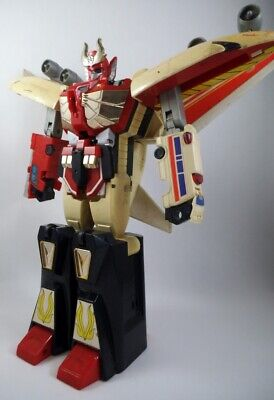 90's Takara Japan Yuusha Brave Command DX Fire Dagwon Transformers Diaclone