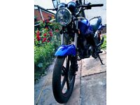 Sinnis max 2 125 motorcycle 2016