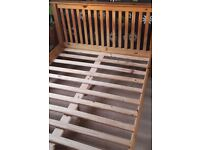 Solid wooden Double Bed & Matress