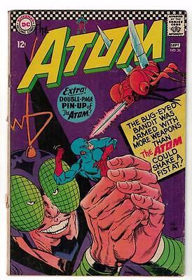 DC Comic ATOM Silver age  #26 VG+ superman 1966