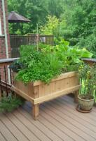 We build custom planter boxes for all your gardening needs