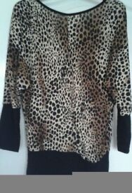 Leopard Top, M