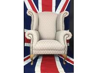 Bespoke Queen Anne Armchair