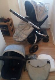 Mothercare spin full travel system
