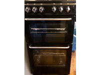 4-burner Gas hob with separate Grill and Oven