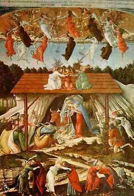 A4 Photo Botticelli Sandro c1445 1510 Mystic Nativity Art of the Renaissance Pri