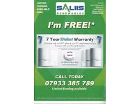 CALL SALIIS TODAY ON 01254 914350 FOR FREE VALLIANT BOILER. Subject to qualifying criteria.