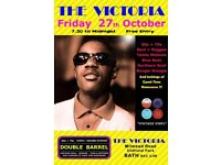 FRIDAY 27th OCTOBER - 60s 70s SOUL / REGGAE / MOTOWN with DOUBLE BARREL – BATH