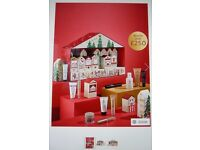 M&S 2017 Advent calendar everyone is talking about. Worth £250. Sold Out online and in shops.