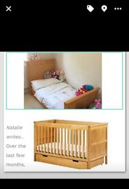 Oscar Cot Bed (M&S) very good condition