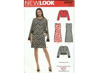 NewLook K6302 Dress and jacket Pattern