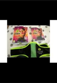 Zumba Fitness Wii Game and Accessories