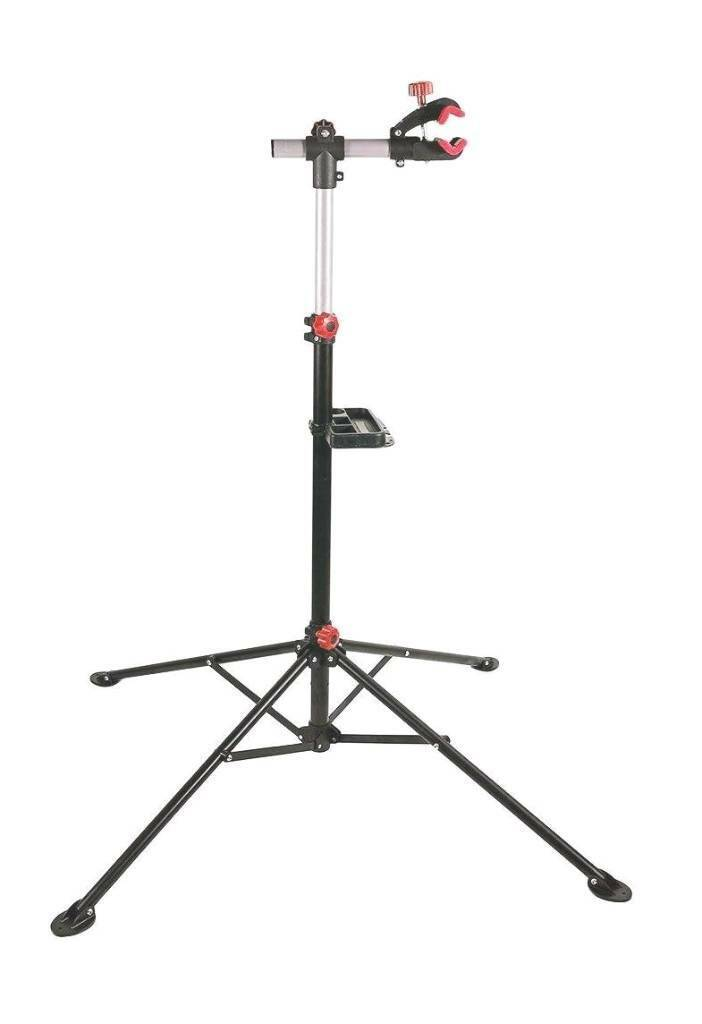 Oypla Heavy Duty Black Pro Home Mechanic Folding Bicycle Bike Cycle Repair Maintenance Stand | in Ammanford, Carmarthenshire | Gumtree
