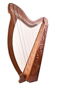 Harp 31 strings with levers, excellent Condition, Used