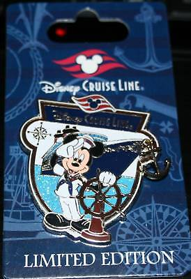 Disney DCL Characters with Ship Mickey Mouse Pin