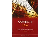 Company Law 9/e (Core Texts Series) by Alan Dignam and John Lowry