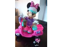 Disney Minnie Mouse fashion Ride Scooter playset