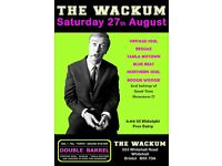 SATURDAY 27th AUGUST - 60s 70s SOUL / REGGAE / MOTOWN / SKA with DOUBLE BARREL . WHITEHALL