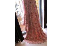 Asian Indian Pakistani Pink Wedding Dress/ Lengha Style UK size 14-16 RRP £3000 Once worn Like New