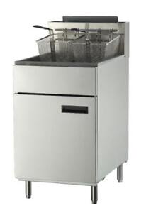 Fryer--Brand New Stainless Steel Gas Fryers and Cooking Equipment