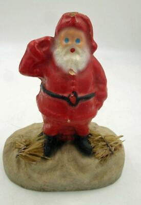 Blue Santa Clause (1950S PAPER MACHE BLUE EYE SANTA CLAUSE MADE IN)