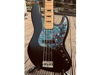 Fender Mexican Jazz Bass with Great Upgrades -- Satin Black