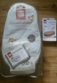 Red Castle Cocoonababy Nest + unopened pack of pampers size 1