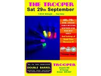 SATURDAY 29th SEPTEMBER - 60s 70s SOUL / REGGAE / MOTOWN / DISCO with DOUBLE BARREL - ST GEORGE