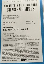 Guns and Roses Once in a lifetime tour - Munich