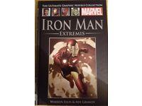 Marvel Iron Man Extrmis Graphic Novel (Hardback)
