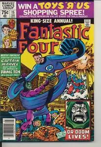 Fantastic-Four-King-Size-Annual-15-Near-Mint-NM-9-4-Marvel-Comics-1980