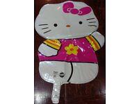 5 x Hello Kitty Super Shape Street Treats Helium Foil Balloons, New & Unused