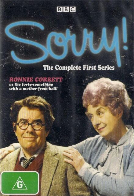 SORRY! - THE COMPLETE FIRST SERIES * RONNIE CORBETT *  BBC *