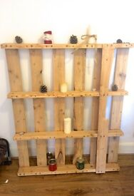 Decorative shelving/pallet