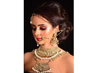 Asian and English bridal and occasional hairstyling and makeup
