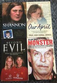 *Please read description* 11 Paperback Books. True Stories. Controversial.